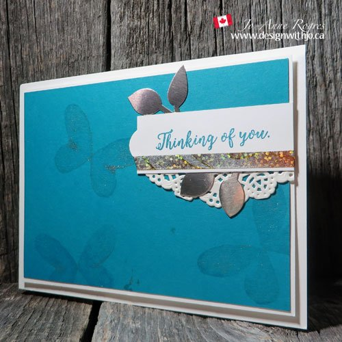 how to make a butterfly card