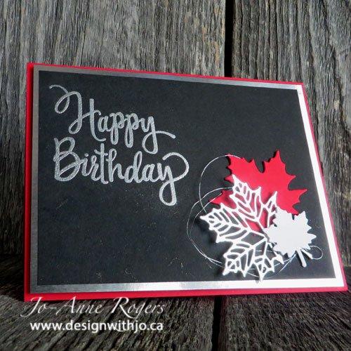 Canadian Handmade Birthday Celebrations