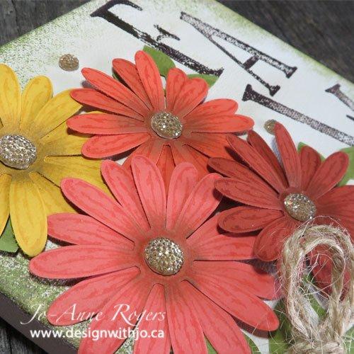 fall flower DIY home decor