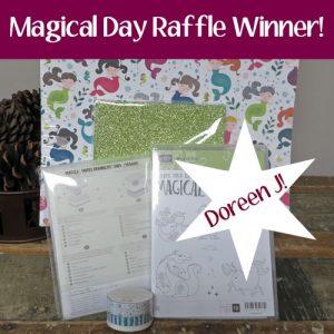 magical day raffle winner