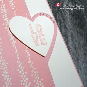 reverse fold love you card