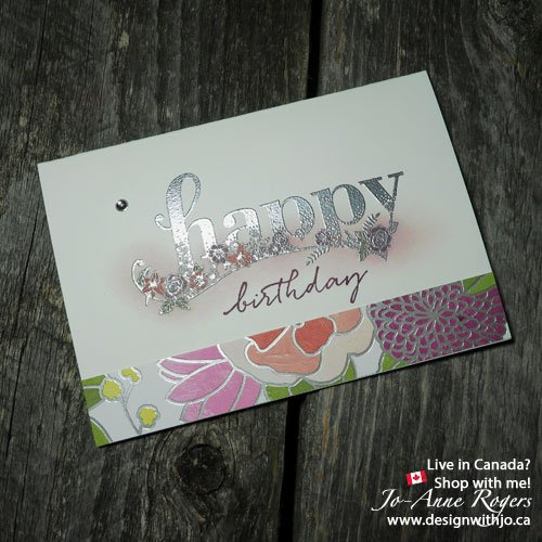 happy wishes stampin up saleabration