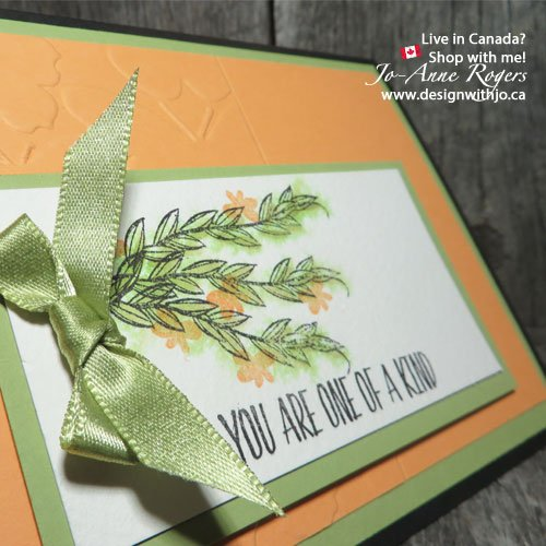 stamping ink watercolour card