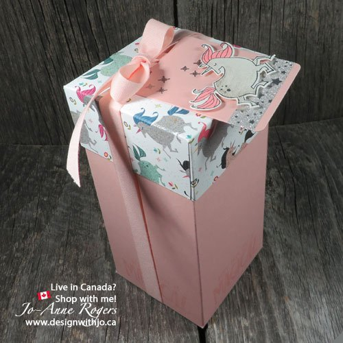 Handmade Unicorn Birthday Gift Boxes Design With Jo