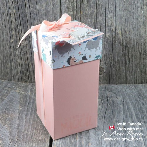 Handmade Unicorn Birthday Gift Boxes Design With Jo