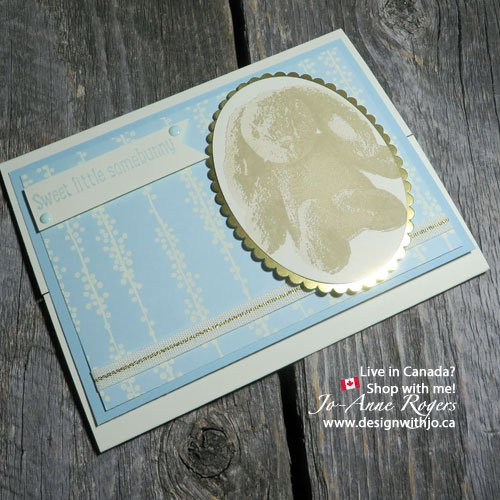 Handmade Card New Baby Boy