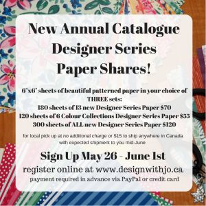 2018-19 Annual Catalogue Paper Shares