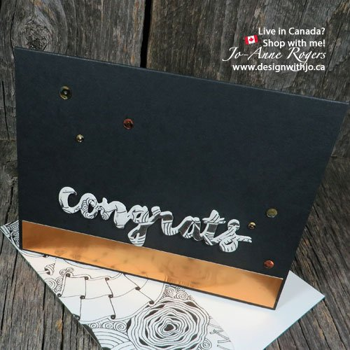 Stampin Up Zentangle designs make cool cards