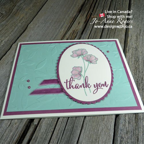 share what yo love with thank you cards