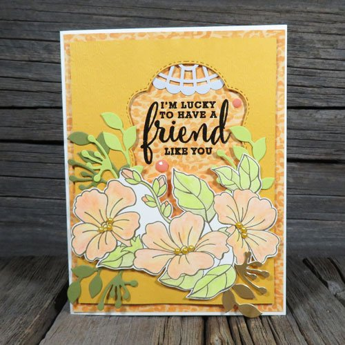over the top colour your season bundle layered cardmaking