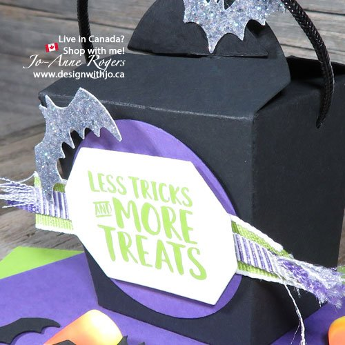 Handmade Candy Corn Countdown Mini Takeout Boxes for Halloween