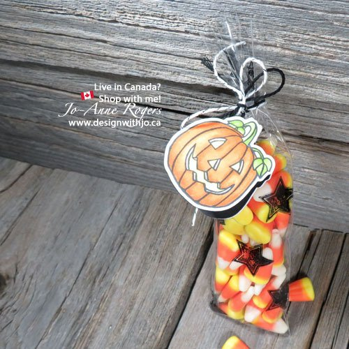 Handmade Candy Corn Countdown Trick or Treat Bags for Halloween