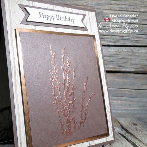 Emboss Some Handmade Birthday Cards for Men