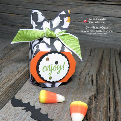 Handmade Candy Corn Countdown Ferraro Rocher Favor Box for Halloween