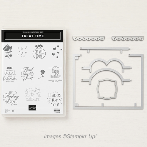 Treat Time Bundle with Garden Impressions Designer Series Paper