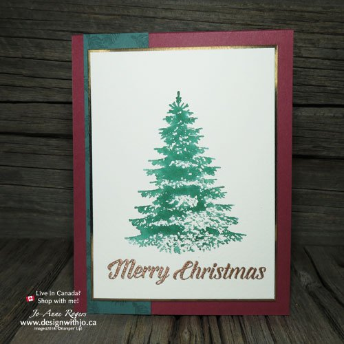 Christmas Card Heat Embossing Ideas