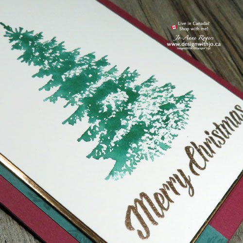 I LOVE Quick and Easy Christmas Card Heat Embossing Ideas