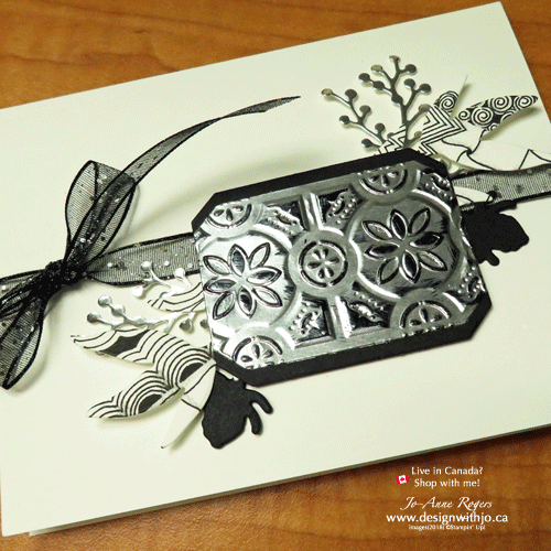 I LOVE to make cards with zentangle designs
