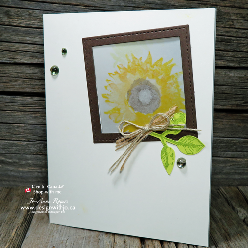 Using vellum in card making makes beautiful greetings