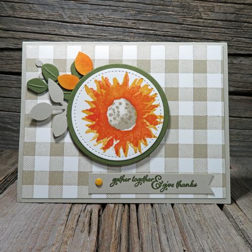 Make a classy handmade autumn card