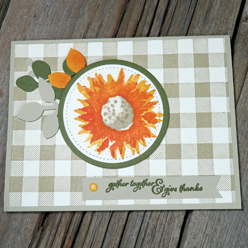 This is NOT your average handmade autumn card