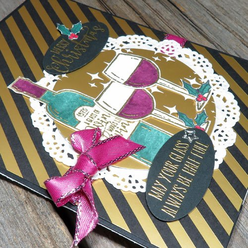 NOT Your Average Stamping & Embossing Christmas Cards