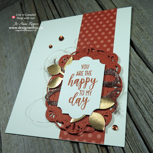 FREE pdf photo tutorial for World Card Making Day 2018