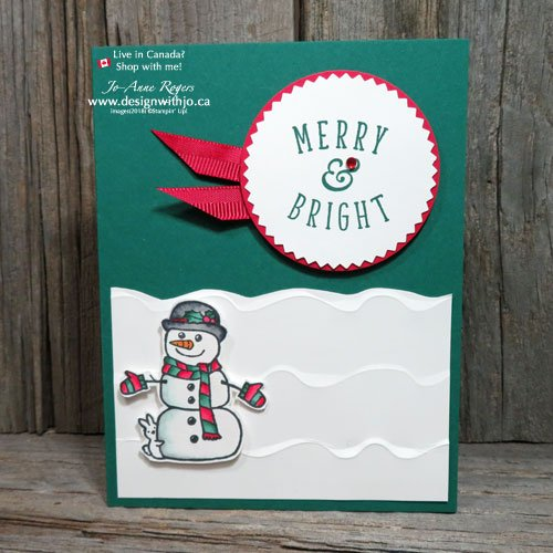 Why Not Make Christmas Cards with Alcohol Markers?