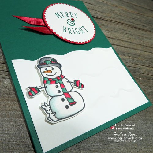 Let's make Christmas cards with alcohol markers