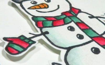 Make Christmas Cards with Alcohol Markers