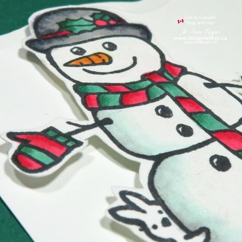 Have you tried to make Christmas cards with alcohol markers yet?