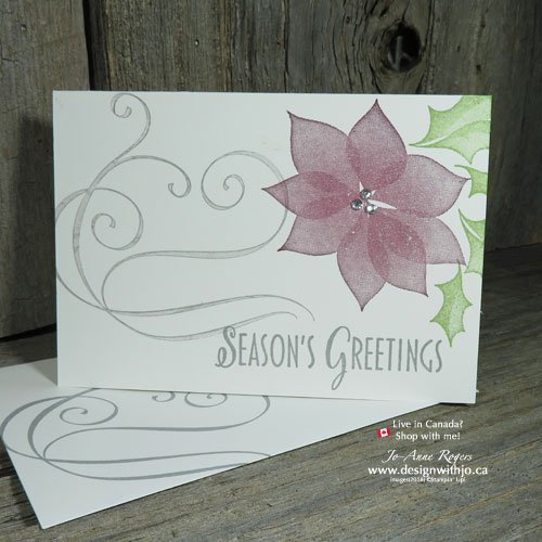 Elegant & OH SO Simple Two Step Stamping Christmas Cards