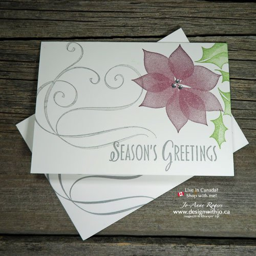 QUICK & SIMPLE Two Step Stamping Christmas Cards