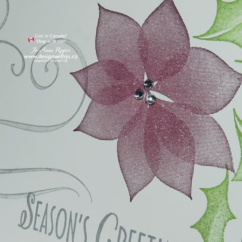 Why Not Try Simple Two Step Stamping Christmas Cards?