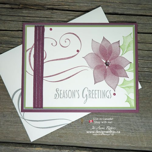 I LOVE Simple Two Step Stamping Christmas Cards!