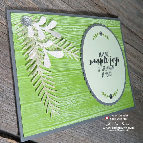 Try using ink pads for different stamping techniques for FAB cards
