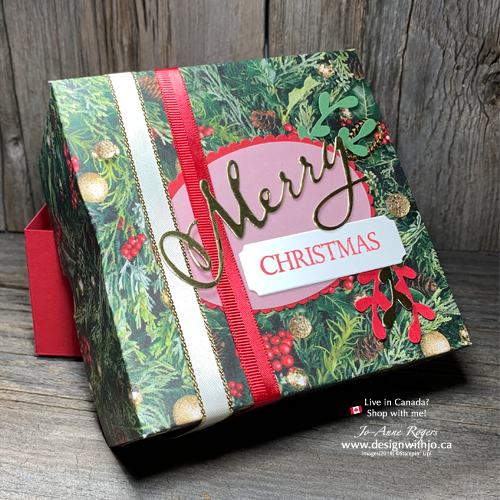 VIDEO Tutorial for How to Hand make a Christmas Gift Box at Home