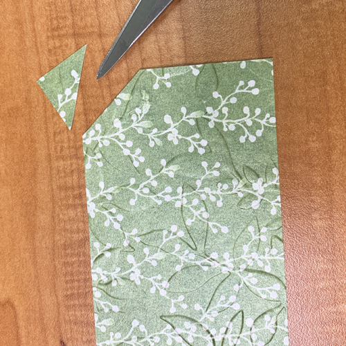 Make Last Minute Gift Tags by Embossing Patterned Paper