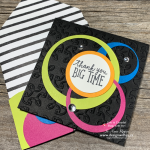 Get a Sixties VIBE Going with Cool Hole Punch Card Ideas