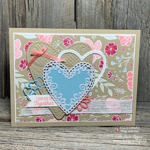 Cut Out Heart Shapes for Card Making for Quick Collage Beauties