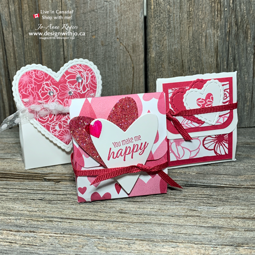 I LOVE These Super Quick Easy to Make Valentines Treat Boxes!