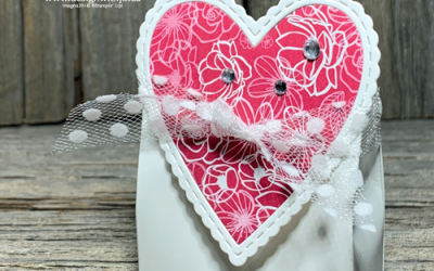 Easy to Make Valentines Treat Boxes | Facebook Live Replay