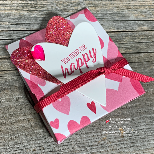 NEW Video for Easy to Make Valentines Treat Boxes