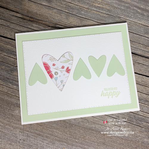 I LOVE These Heart Shape Cutouts for Handmade Cards