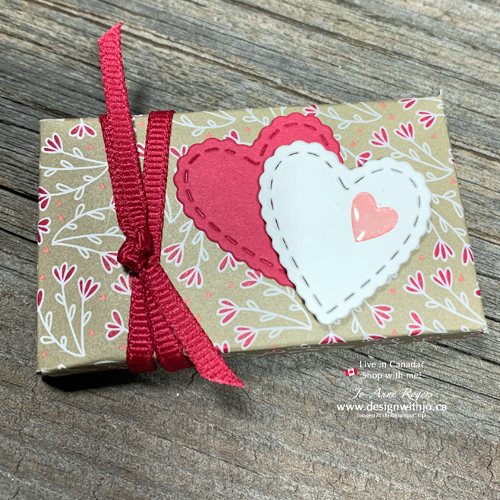 Homemade Valentines Treats Boxes are Quick & Easy with the Envelope Punch Board