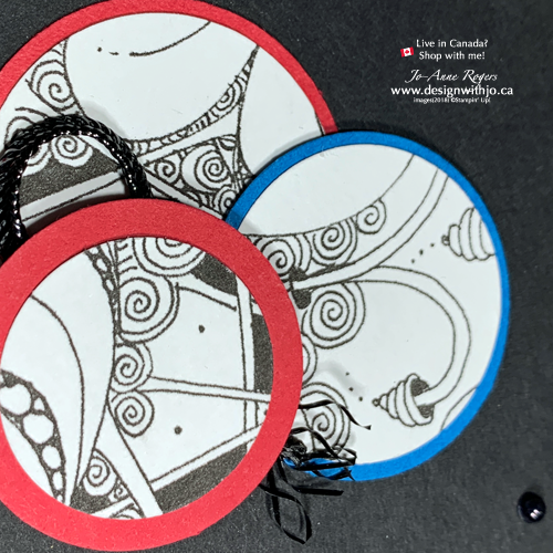 Use Your Circle Punches for Quick Cardmaking Zentangle Ideas