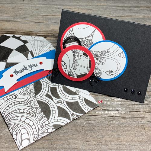 LOVE Quick Cardmaking Zentangle Ideas?