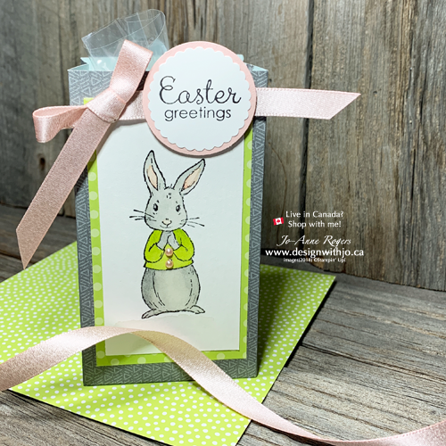 Facebook Live Replay: Easter Bunny Bags with the Gift Bag Punch Board are Fast and Fun!