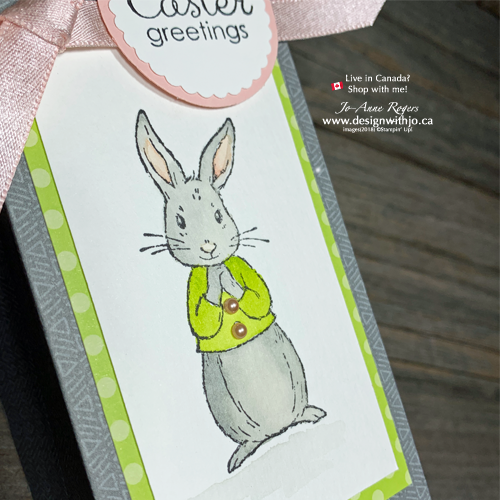 I LOVE How ADORABLE these Easter Bunny Bags with the Gift Bag Punch Board Are!