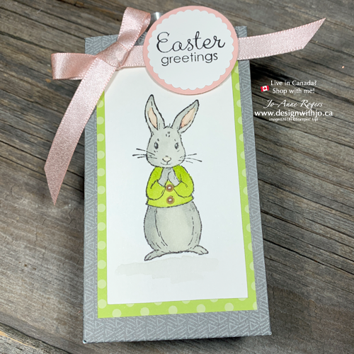 Want a QUICK Project? Easter Bunny Bags with the Gift Bag Punch Board